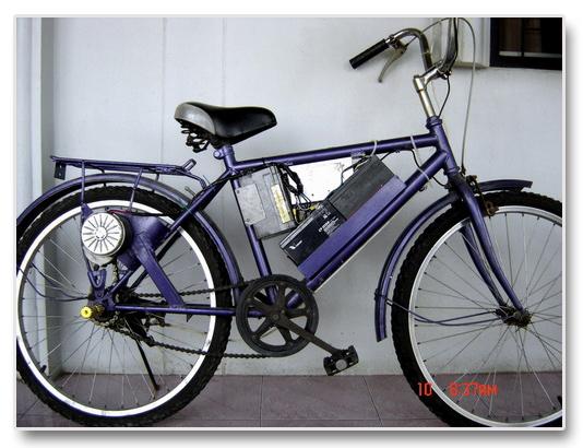 จักรยานไฟฟ้าคันแรก ความเร็ว 40กม/ชม ระยะทาง 30 กม